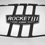 Polished Stainless Steel Radiator Insert (Rocket 3 Standard)