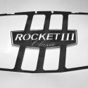 Polished Stainless Steel Radiator Insert, (Rocket 3 Classic)