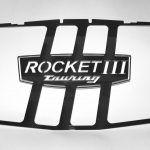 Polished Stainless Steel Radiator Insert (Rocket 3 Touring)